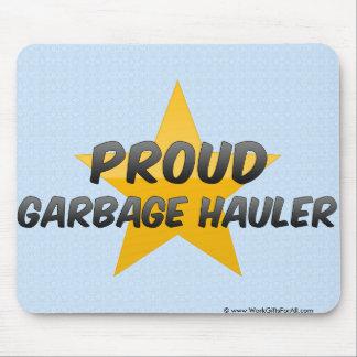Proud Garbage Hauler Mousepad