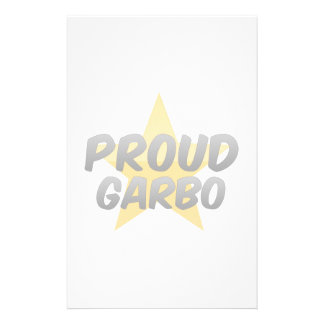 Proud Garbo Stationery