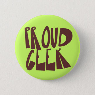 Proud Geek Button