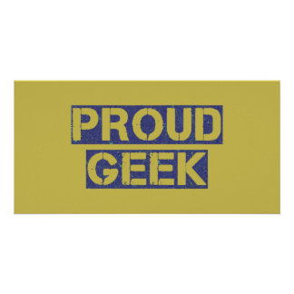 Proud Geek Card