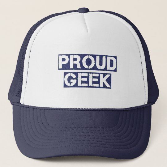 Proud Geek Trucker Hat