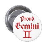 Proud Gemini Button