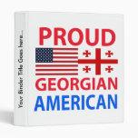 Proud Georgian American Binder