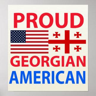 Proud Georgian American Posters