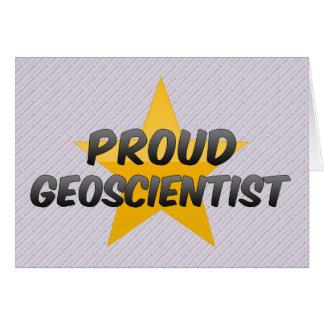 Proud Geoscientist Cards