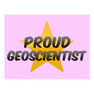 Proud Geoscientist Postcard
