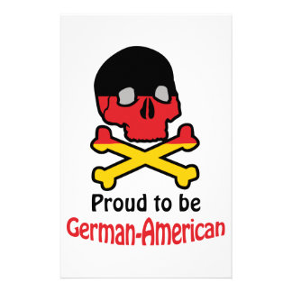 Proud German-American Stationery