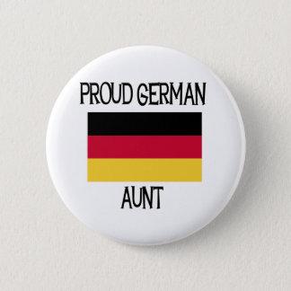 Proud German Aunt Pinback Button