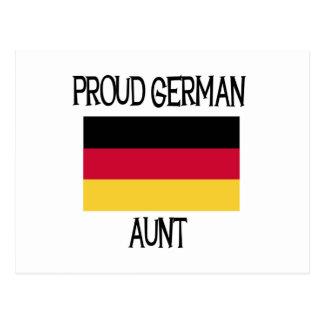 Proud German Aunt Postcard