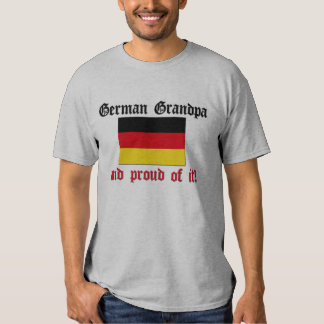 Proud German Grandpa Tee Shirt