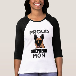 Proud German Shepherd Mom Dog Shirt