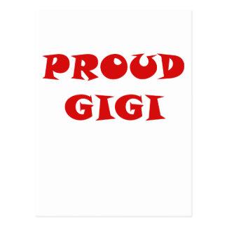 Proud Gigi Post Card