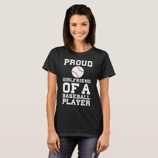 Proud Girlfriend of a Baseball Player Fan T-Shirt
