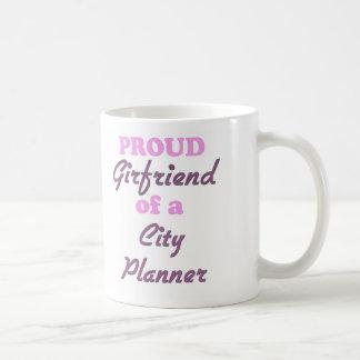 Proud Girlfriend of a City Planner Classic White Coffee Mug