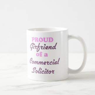 Proud Girlfriend of a Commercial Solicitor Mugs