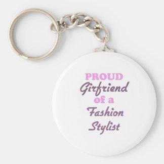 Proud Girlfriend of a Fashion Stylist Key Chain