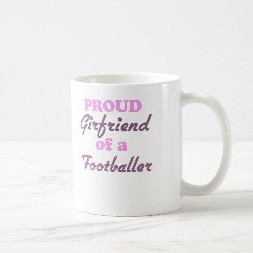 Proud Girlfriend of a Footballer Mugs
