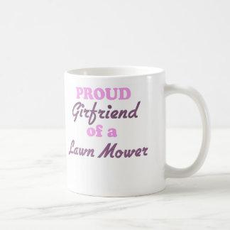Proud Girlfriend of a Lawn Mower Coffee Mugs