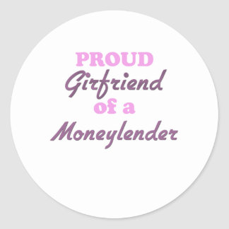 Proud Girlfriend of a Moneylender Stickers
