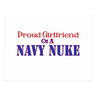 Proud Girlfriend of a Navy Nuke Post Cards
