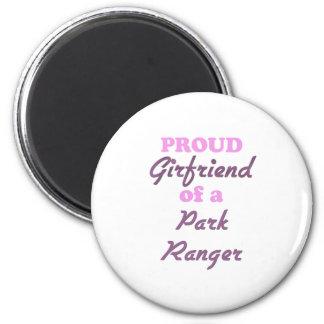 Proud Girlfriend of a Park Ranger Refrigerator Magnets