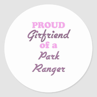 Proud Girlfriend of a Park Ranger Stickers