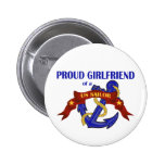 Proud Girlfriend of a US Sailor Pin