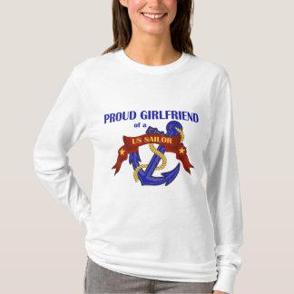 Proud Girlfriend of a US Sailor T-Shirt