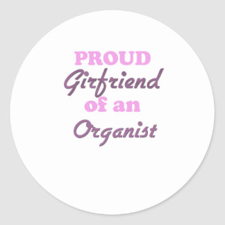 Proud Girlfriend of an Organist Stickers
