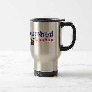 Proud Girlfriend of my Guardsman Coffee Mugs
