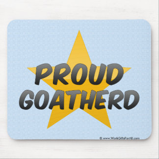 Proud Goatherd Mouse Pad