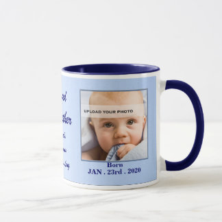 Proud Godfather New Baby Personalized Mug