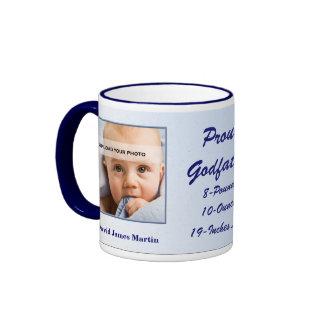Proud Godfather New Baby Personalized Mug