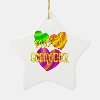 Proud Godmother Ceramic Ornament