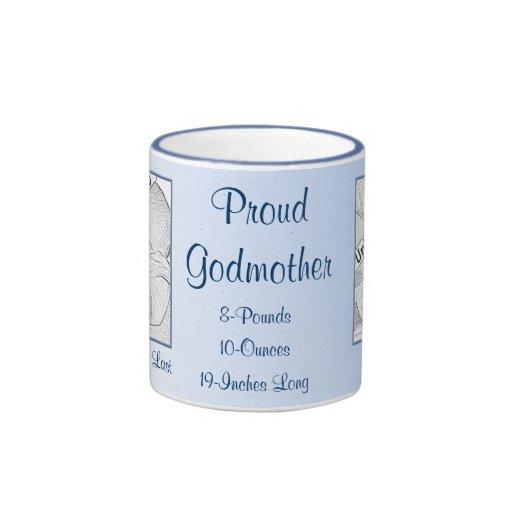 Proud Godmother New Baby Personalized Mug