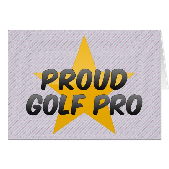 Proud Golf Pro Card