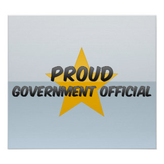 Proud Government Official Print