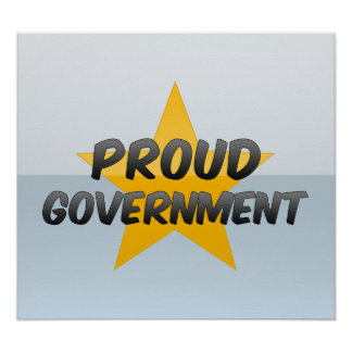 Proud Government Poster