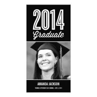 Proud Grad Graduation Announcement Photo Card Customized Photo Card