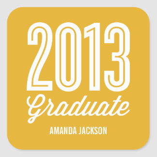 Proud Grad Graduation Favor Stickers