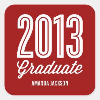 Proud Grad Graduation Favor Stickers Stickers
