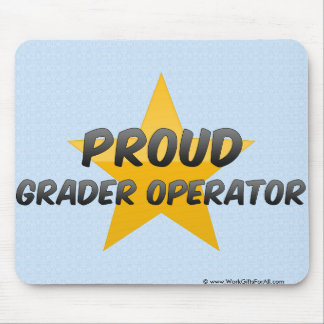 Proud Grader Operator Mouse Pad
