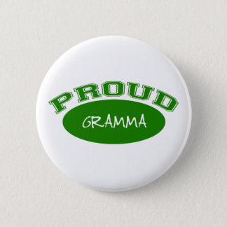 Proud Gramma (Green) Pinback Button