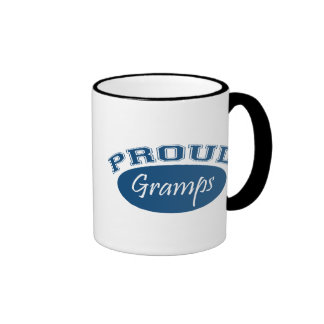Proud Gramps (Blue) Ringer Coffee Mug
