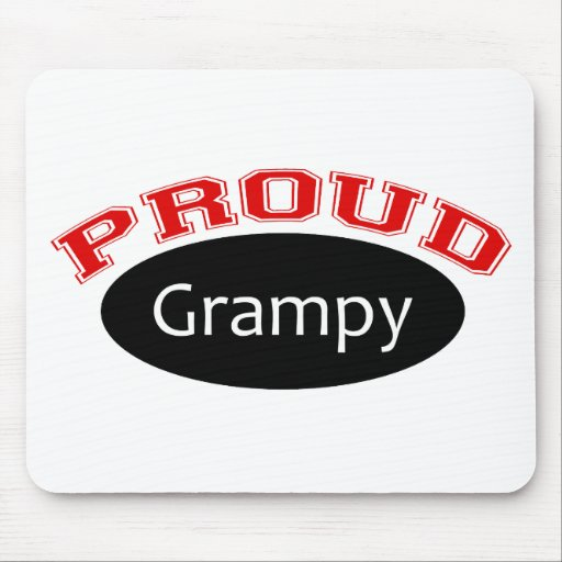Proud Grampy Mouse Pad