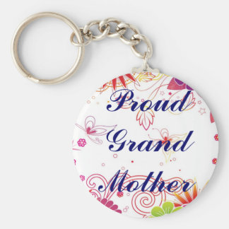 Proud Grand Mother Keychain