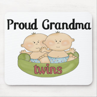 Proud Grand of Twins Mouse Pad