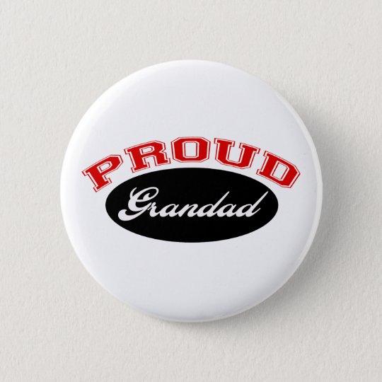 Proud Grandad Pinback Button