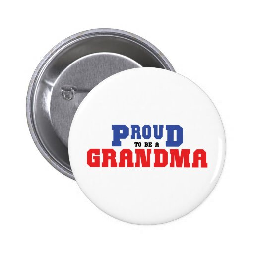 Proud Grandma 2 Inch Round Button
