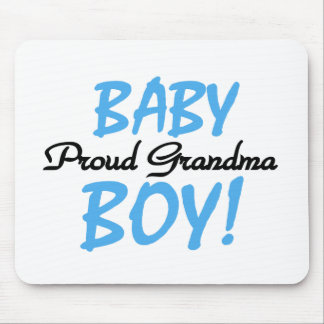 Proud Grandma Baby Boy T shirts and Gifts Mouse Pad